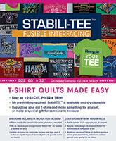 Stabili Tee Fusible Interfacing Pack